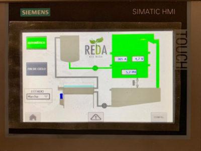 REDOX pantalla